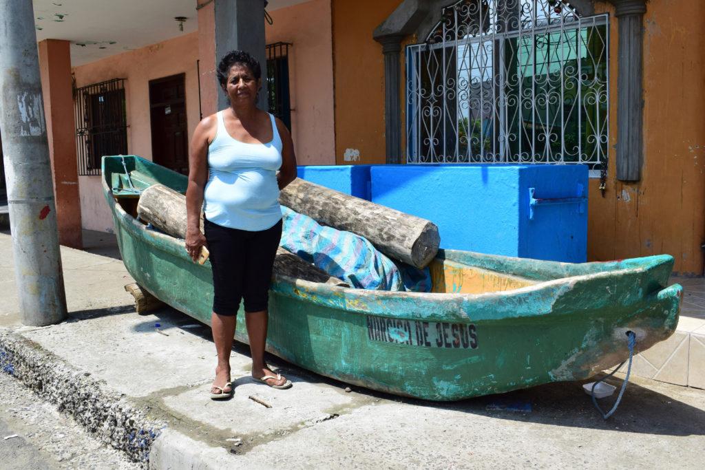 MRS. ZOILA BERMELLO, Client of ESPOIR, Ecuador